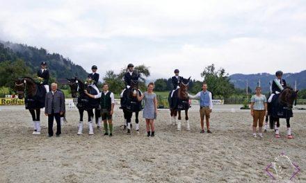 Steirischen Landesmeister Dressur Pony & Mannschaft gekürt