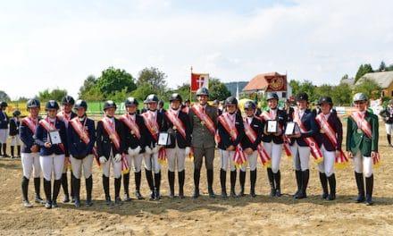 Gniebing-Feldbach: Steiermark dominiert Reitervierkampf-Meisterschaften