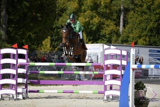 CSN-A* Pferd Wels: Patrik Majher triumphiert am zweiten Turniertag
