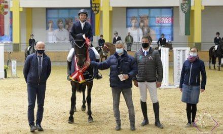 Staphael III und  Staletto ZGE neue AWÖ Springpferdechampions